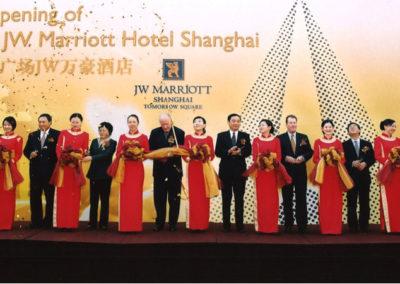 Marriott Hotel Shanghai Opening