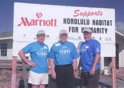 Marriott Honolulu Habitat for Humanity