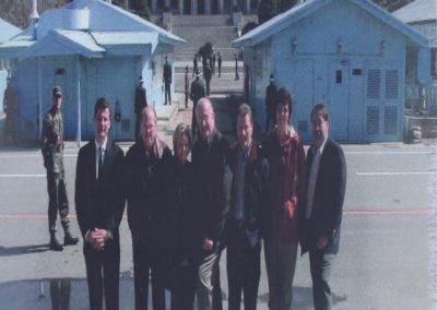International Executive Team - North Korean Border