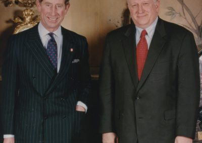 Ed with Prince Charles of Wales