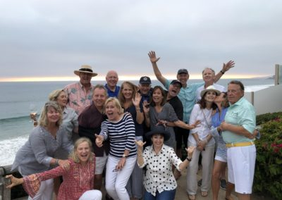 Party at Niguel Shores-Marriott Alumni from the shores and Palm Springs