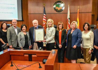 OCVA Board presentation: Orange County sets Tourism Record!