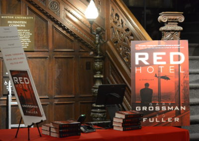 Boston University Red Hotel Book Reading