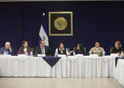 El Salvador Presidential Cabinet Meeting in San Salvador
